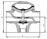 Armas BackflushingValve Model 21 Dimensions