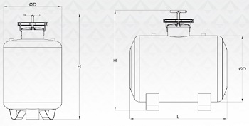 Fertilizer tank dimensions