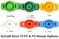 Picture of DuCaR Atom 15 FC and PC Nozzles