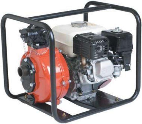 Twin impeller Honda engine powered pump