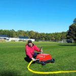 DuCaR IrriCruiser MINI at a sports field 1