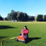 DuCaR IrriCruiser MINI at a sports field 2