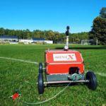 DuCaR IrriCruiser MINI at a sports field 3