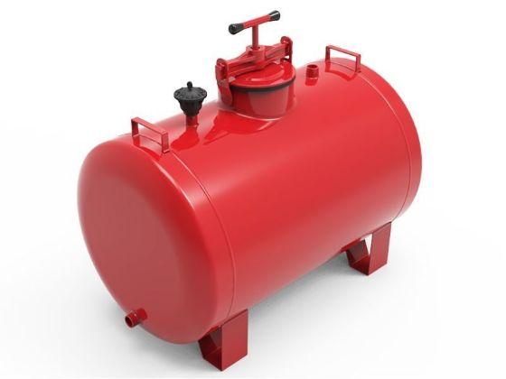 Aytok Horizontal Fertilizer Tank