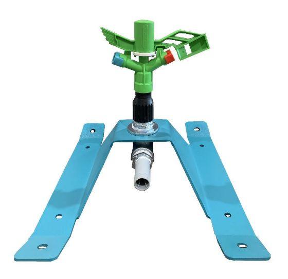 "DuCaR Atom 15 FC Low Flow Sprinkler with 1"" Skid Base"