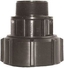 Plasson 7250 Rural Barrel Union Adaptor With Male Thread