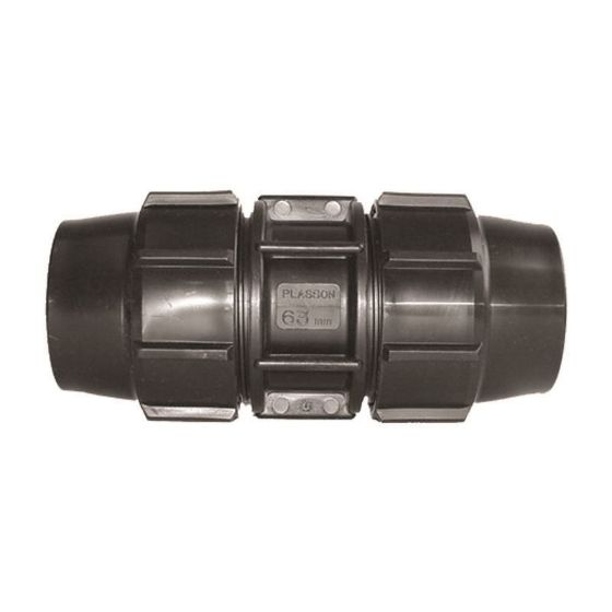 Plasson 7015 Metric Mine - Coupling