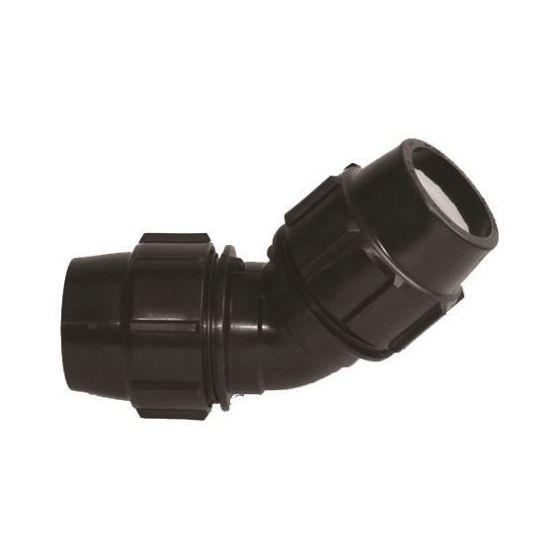 Plasson 7060 45° Metric Elbow